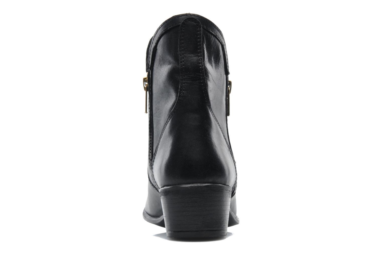Zipstr Black leather