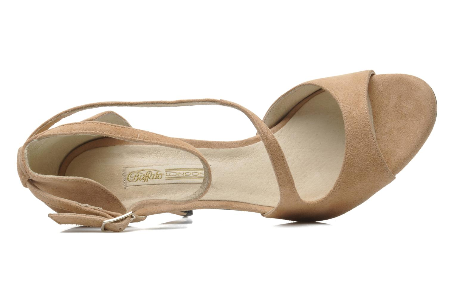 Sandals Buffalo Sofia Pink view from the left