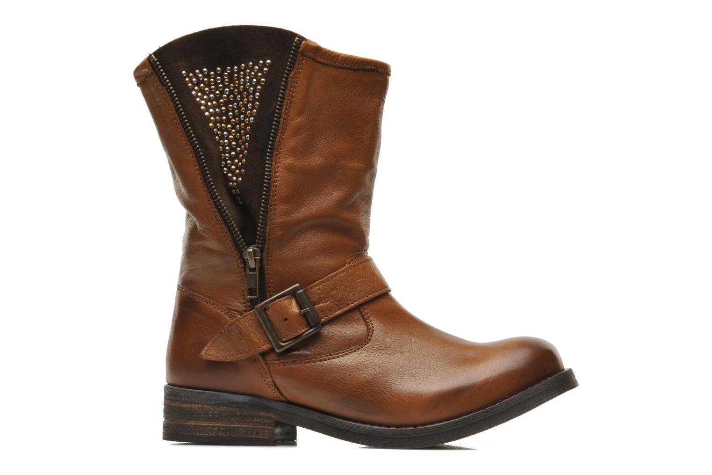 Bottines et boots Buffalo Clara Marron vue derrière