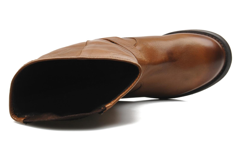Bottines et boots Buffalo Clara Marron vue gauche