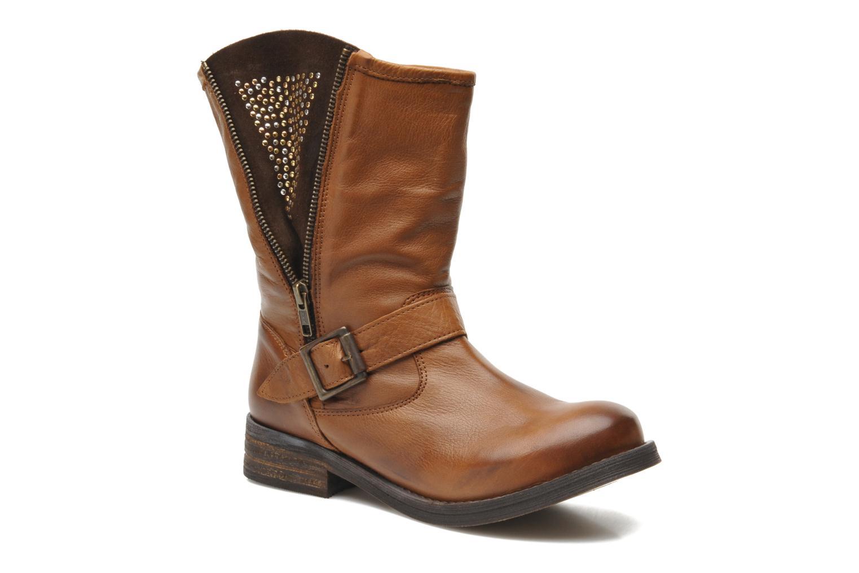 Bottines et boots Buffalo Clara Marron vue détail/paire