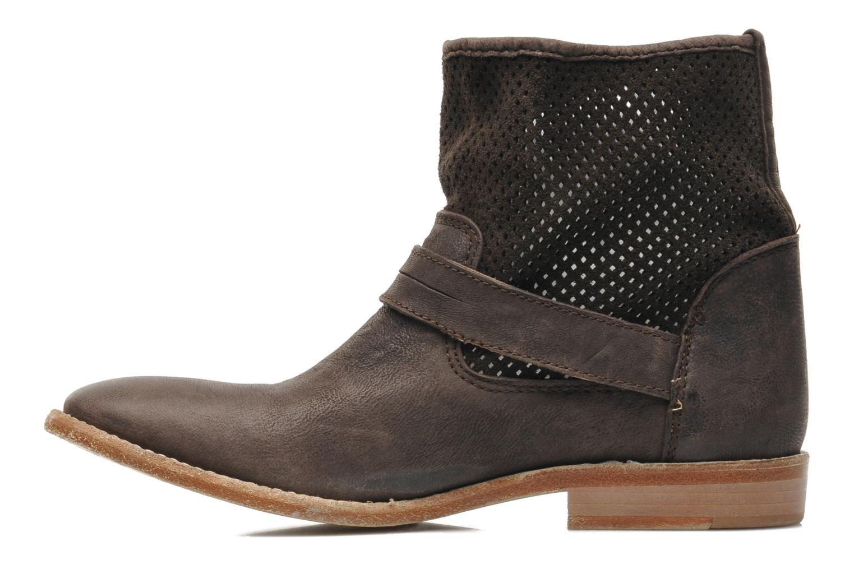 Bottines et boots Buffalo Harmony Marron vue face