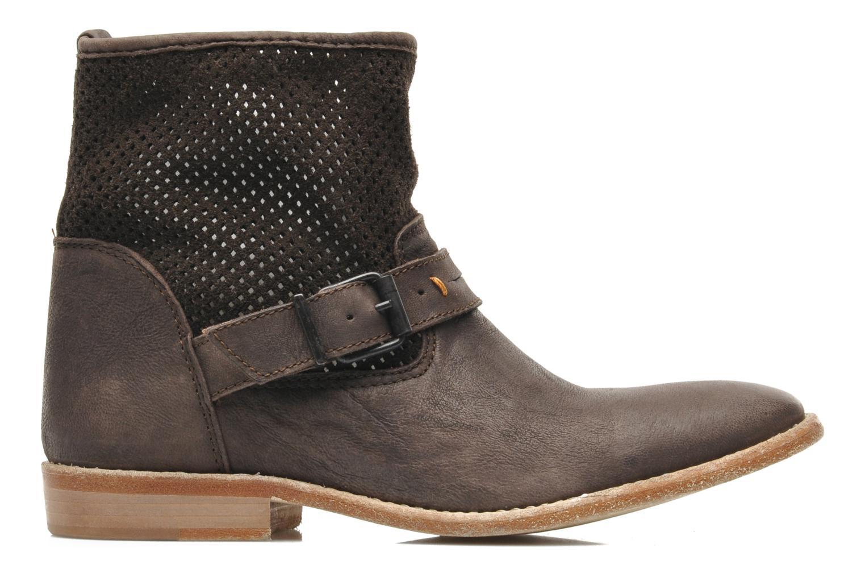 Bottines et boots Buffalo Harmony Marron vue derrière