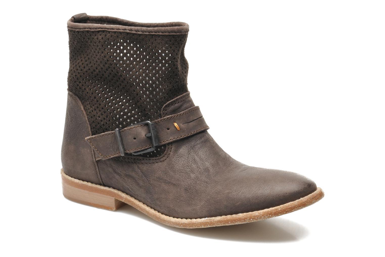 Bottines et boots Buffalo Harmony Marron vue détail/paire