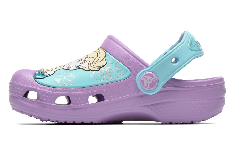 Sandales et nu-pieds Crocs CC Frozen Clog-Iris Multicolore vue face