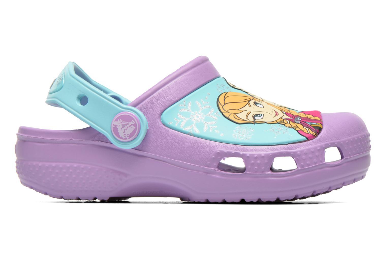 Sandales et nu-pieds Crocs CC Frozen Clog-Iris Multicolore vue derrière