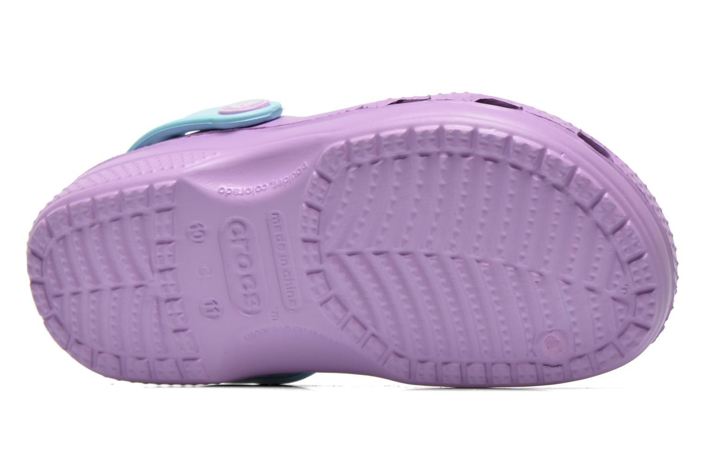 Sandals Crocs CC Frozen Clog-Iris Multicolor view from above