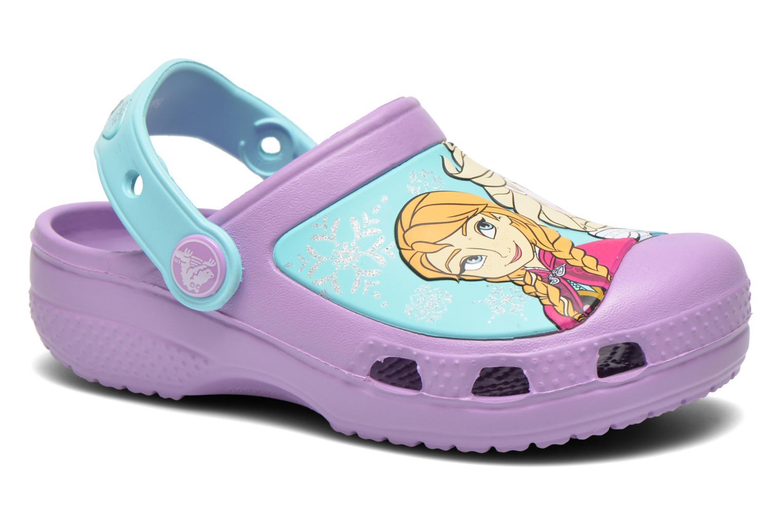 Sandales et nu-pieds Crocs CC Frozen Clog-Iris Multicolore vue détail/paire