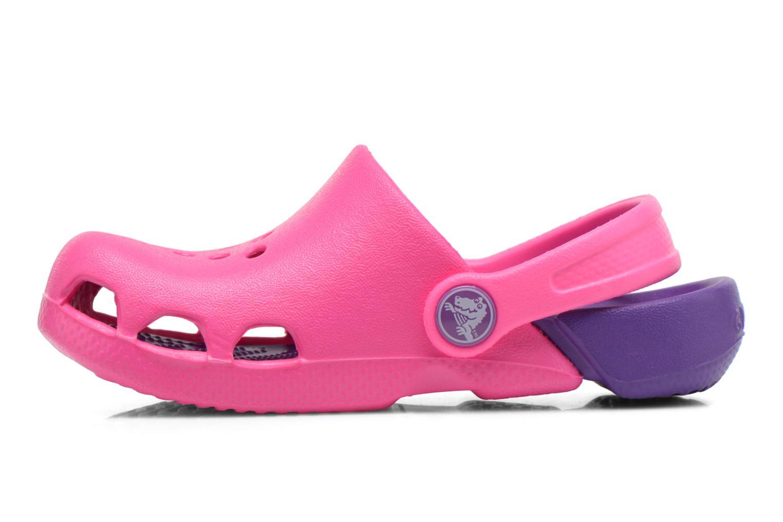 Sandalen Crocs Electro Kids Roze voorkant