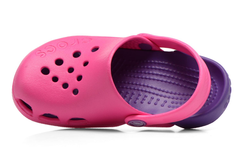 Sandalen Crocs Electro Kids Roze links