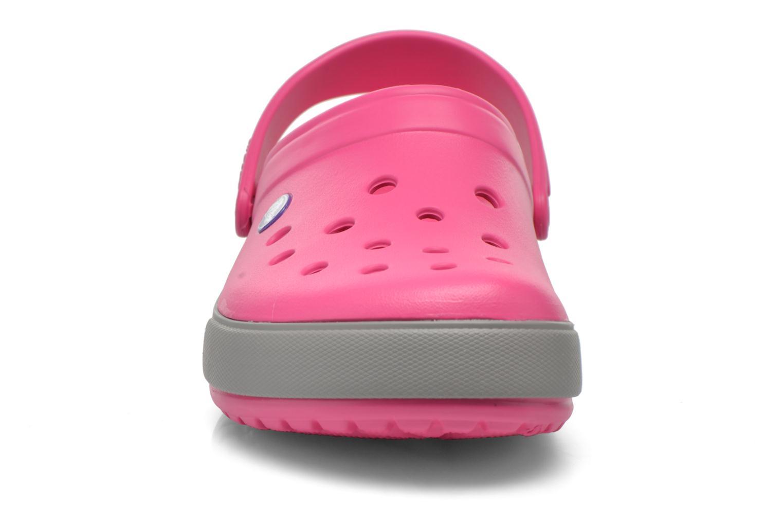 Sandalen Crocs Crocband II.5 Clog rosa schuhe getragen