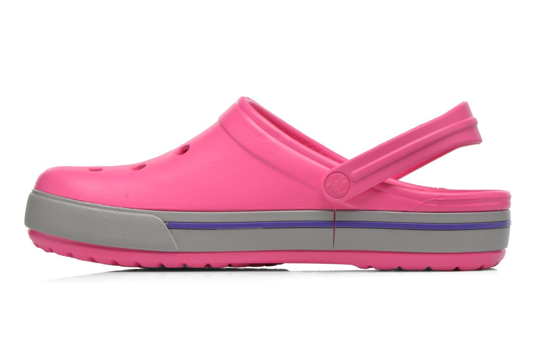 Sandalen Crocs Crocband II.5 Clog rosa ansicht von vorne