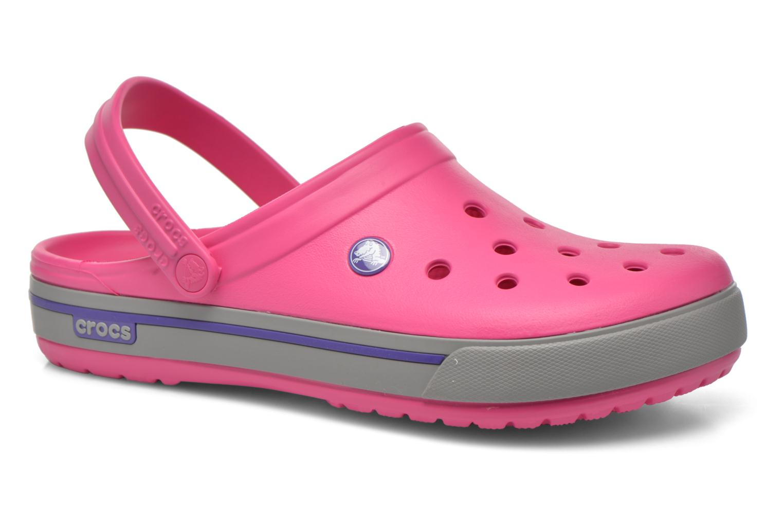 Sandalen Crocs Crocband II.5 Clog rosa detaillierte ansicht/modell