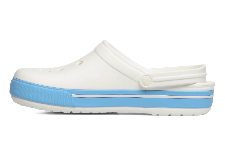 Sandales et nu-pieds Crocs Crocband II.5 Clog Blanc vue face