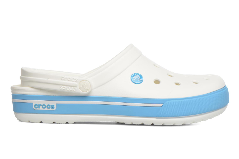 Sandales et nu-pieds Crocs Crocband II.5 Clog Blanc vue derrière