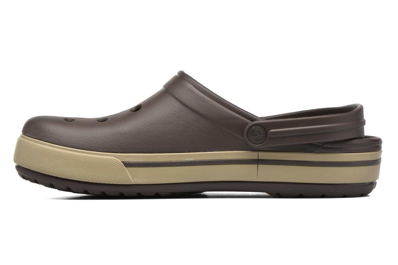 Sandalen Crocs Crocband II.5 Clog braun ansicht von vorne