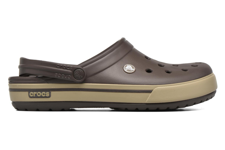 Sandalen Crocs Crocband II.5 Clog braun ansicht von hinten