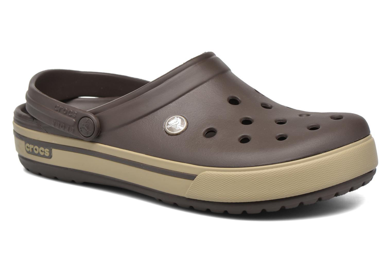 Sandales et nu-pieds Crocs Crocband II.5 Clog Marron vue détail/paire