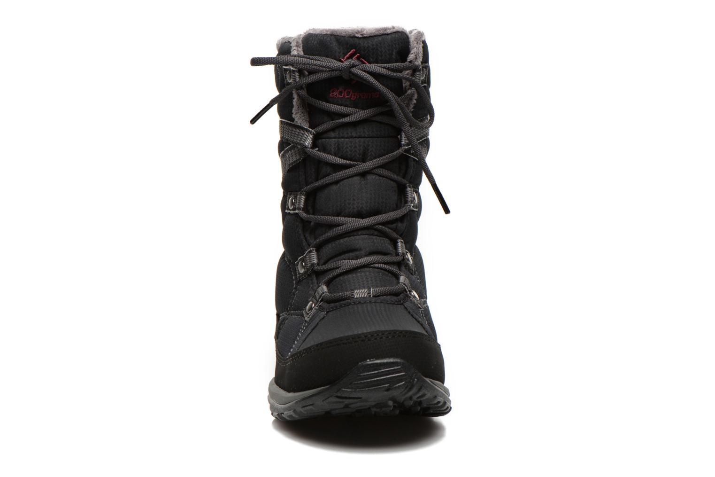 Chaussures de sport Columbia Minx Fire Tall Omni-Heat Waterproof Noir vue portées chaussures