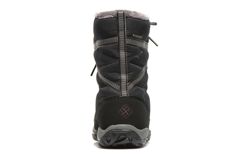 Chaussures de sport Columbia Minx Fire Tall Omni-Heat Waterproof Noir vue droite