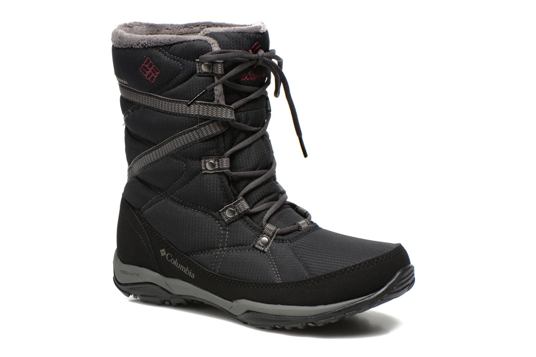 Chaussures de sport Columbia Minx Fire Tall Omni-Heat Waterproof Noir vue détail/paire