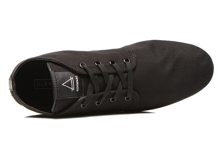 Sneakers Eleven paris Basmono M Zwart links