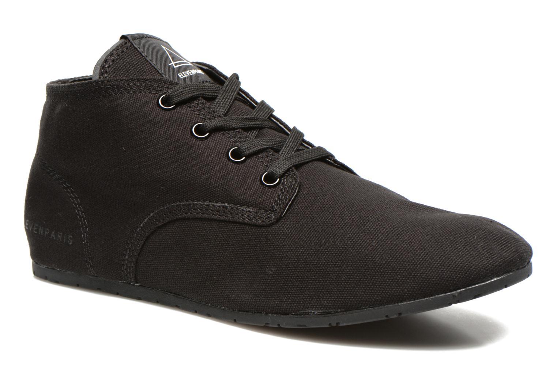 Sneakers Eleven paris Basmono M Zwart detail