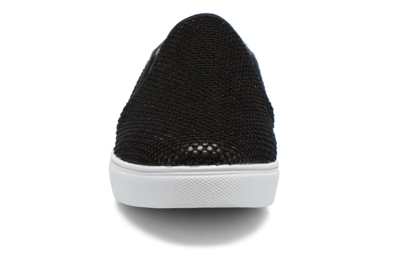 Baskets Le temps des cerises Ava Noir vue portées chaussures