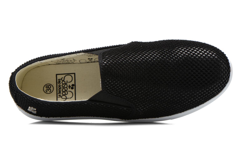 Sneaker Le temps des cerises Ava schwarz ansicht von links