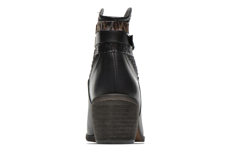 Boots en enkellaarsjes Le temps des cerises Brook Zwart rechts