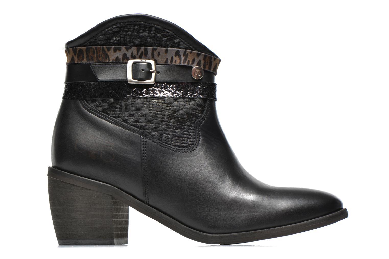 Boots en enkellaarsjes Le temps des cerises Brook Zwart achterkant