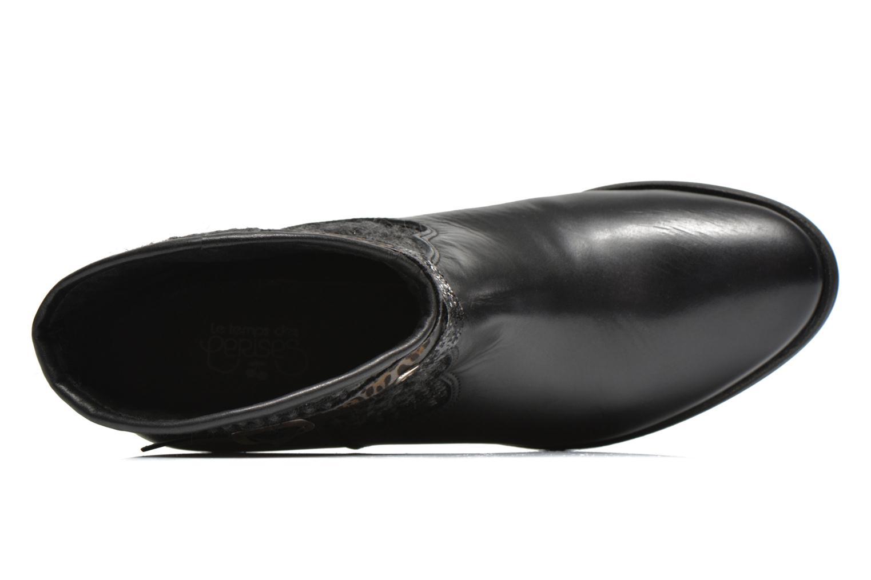 Bottines et boots Le temps des cerises Brook Noir vue gauche