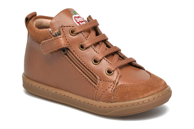 Stiefeletten & Boots Shoo Pom Bouba Bi Zip Lipiz braun schuhe getragen