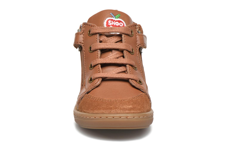 Stiefeletten & Boots Shoo Pom Bouba Bi Zip Lipiz braun ansicht von vorne