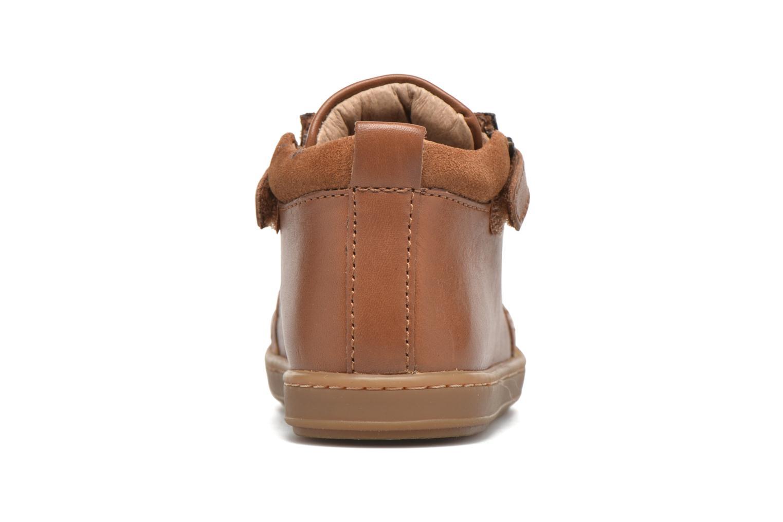Stiefeletten & Boots Shoo Pom Bouba Bi Zip Lipiz braun ansicht von hinten