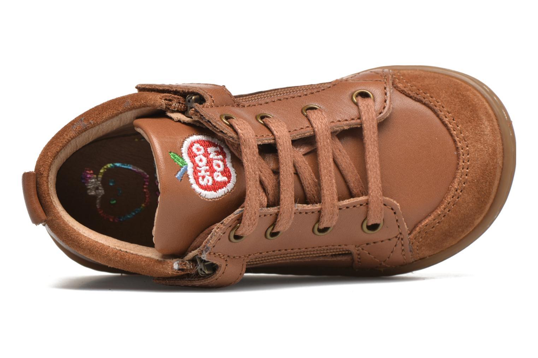 Stiefeletten & Boots Shoo Pom Bouba Bi Zip Lipiz braun ansicht von oben