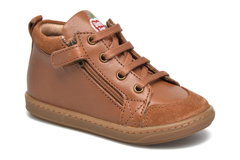 Stiefeletten & Boots Shoo Pom Bouba Bi Zip Lipiz braun detaillierte ansicht/modell