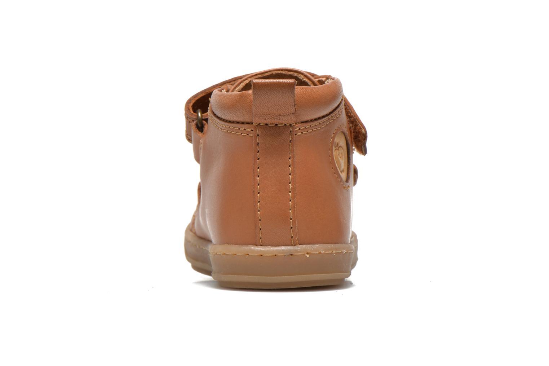 Schoenen met klitteband Shoo Pom Bouba Bi Vel Bruin rechts