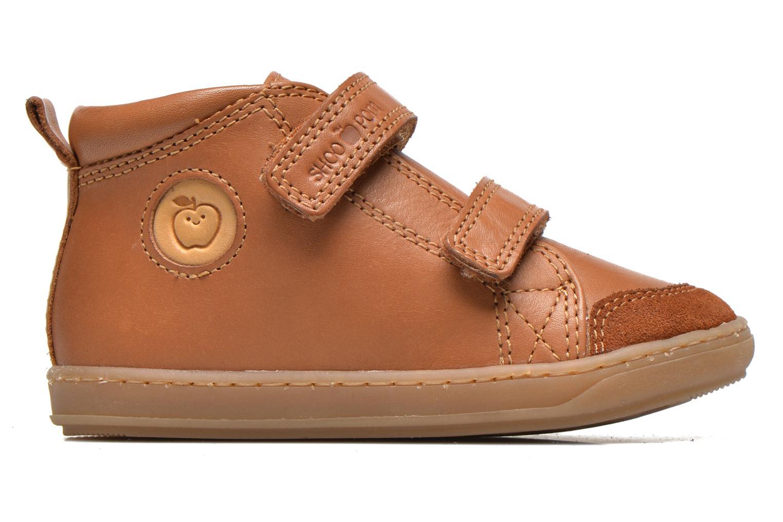 Schoenen met klitteband Shoo Pom Bouba Bi Vel Bruin achterkant