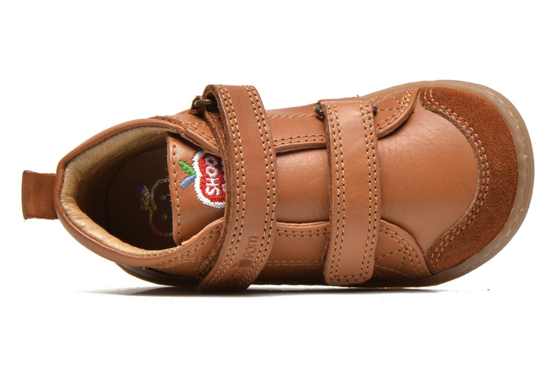 Schoenen met klitteband Shoo Pom Bouba Bi Vel Bruin links