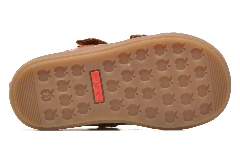 Schoenen met klitteband Shoo Pom Bouba Bi Vel Bruin boven