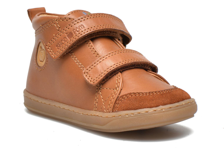 Schoenen met klitteband Shoo Pom Bouba Bi Vel Bruin detail