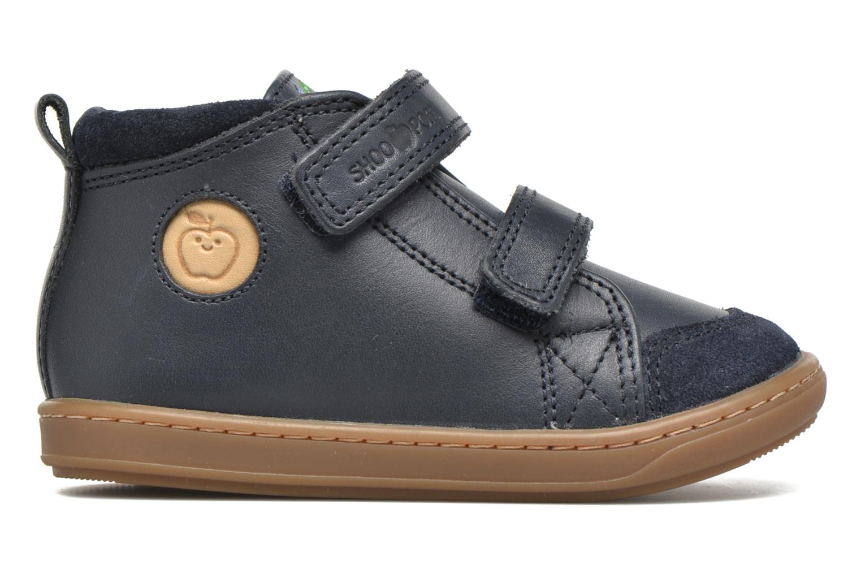 Chaussures à scratch Shoo Pom Bouba Bi Vel Bleu vue derrière