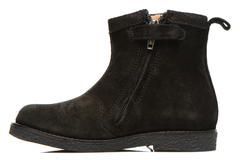 Bottines et boots Shoo Pom Hike Boots Fringe Noir vue face
