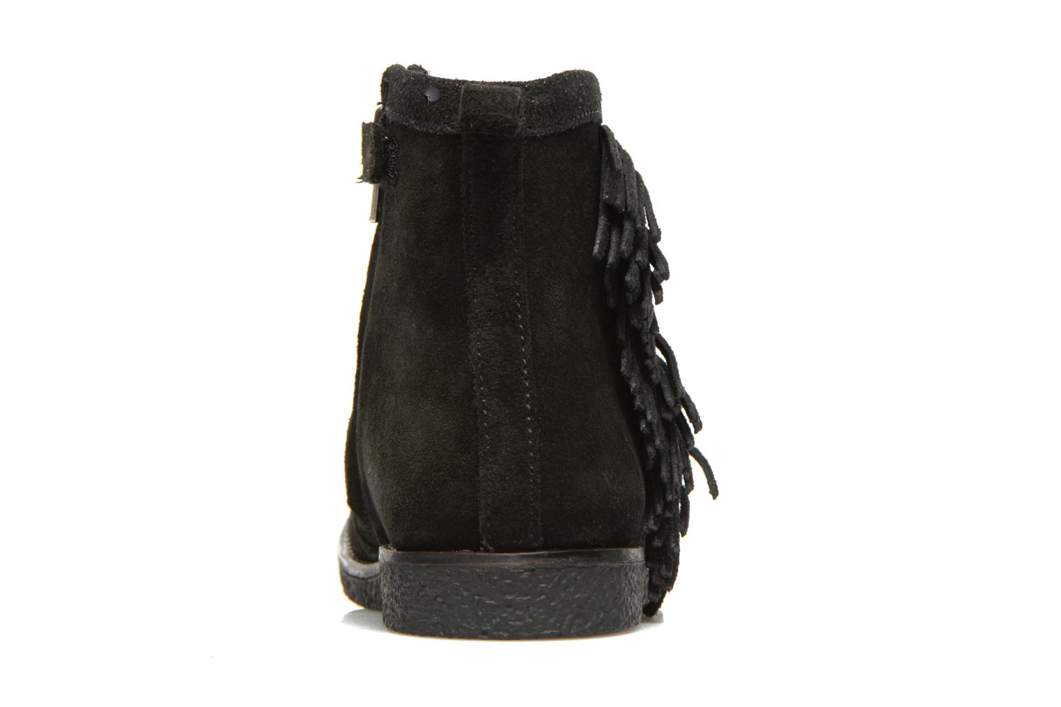 Hike Boots Fringe Black Bronze