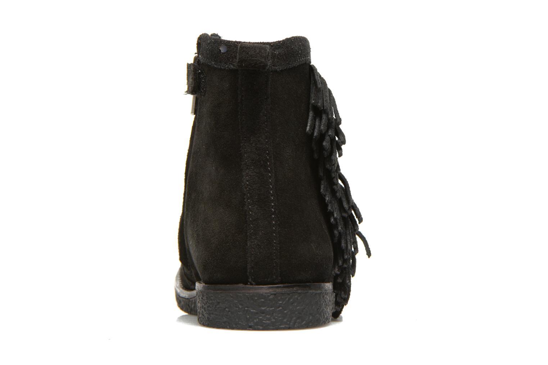 Bottines et boots Shoo Pom Hike Boots Fringe Noir vue droite