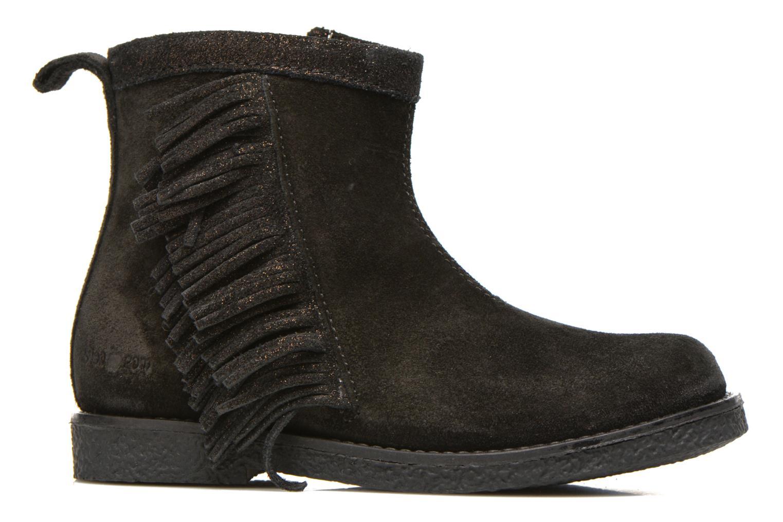 Bottines et boots Shoo Pom Hike Boots Fringe Noir vue derrière