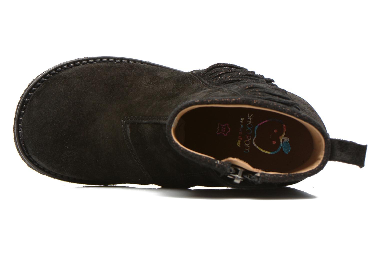Bottines et boots Shoo Pom Hike Boots Fringe Noir vue gauche