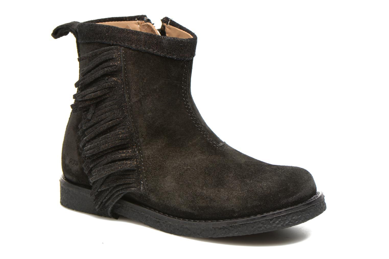 Bottines et boots Shoo Pom Hike Boots Fringe Noir vue détail/paire