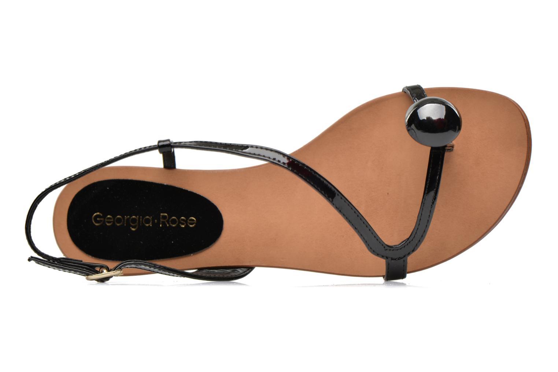 Sandales et nu-pieds Georgia Rose Calindda Noir vue gauche
